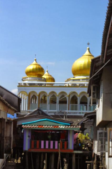 Masjid Panyee Island, Phang Nga, Thailand
