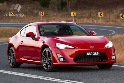 New Toyota 86 coupe priced below $30K!