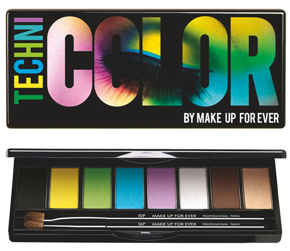 Nouveauté Make Up For Ever - Technicolor (Printemps 2013)