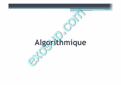 exercices corrigés d'algorithmique