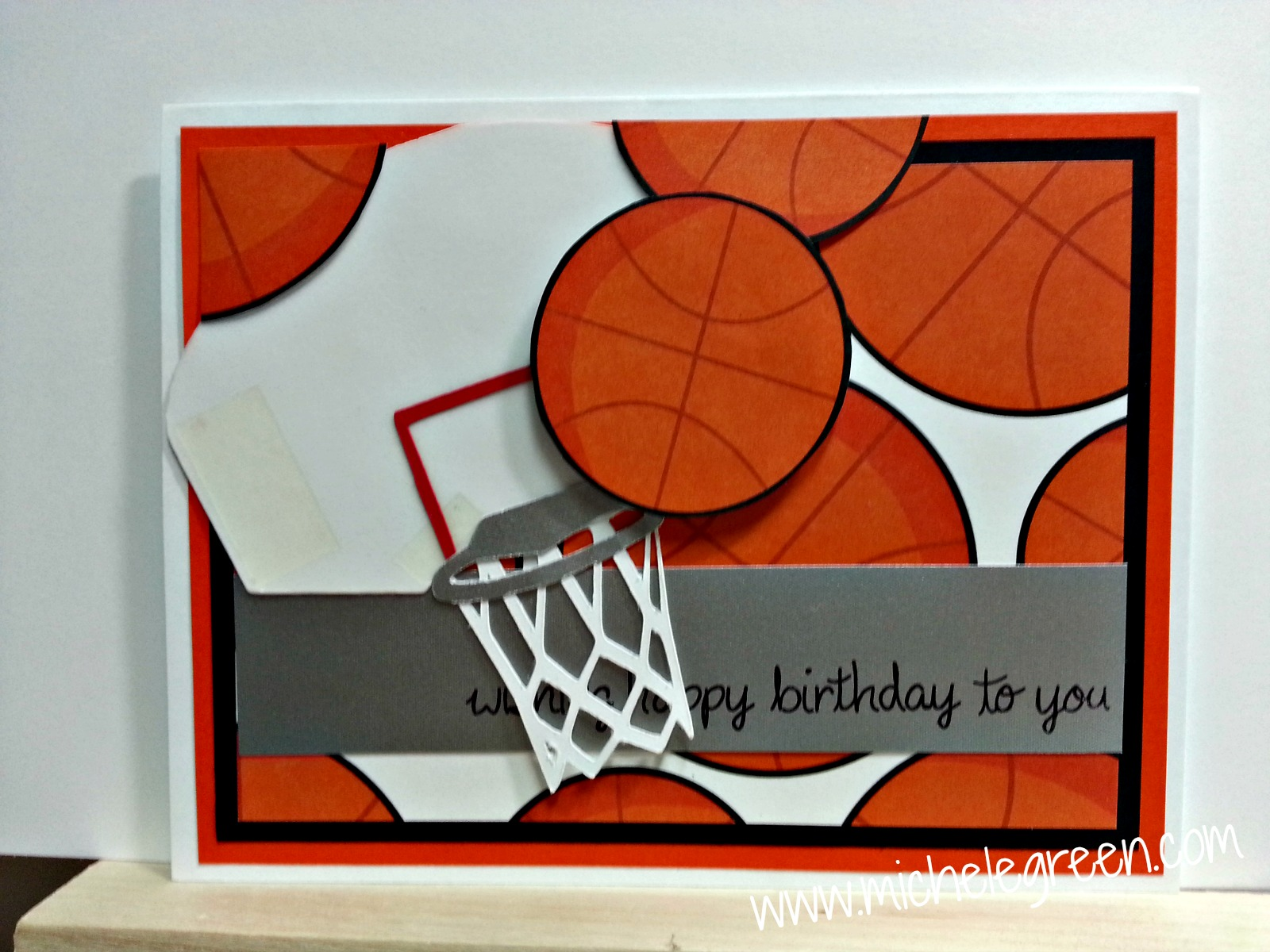 Michelegreen basketball card april 6th i shared this basketball birthday card over on cricut fanatics i made this for a nephew hope you enjoy bookmarktalkfo Image collections