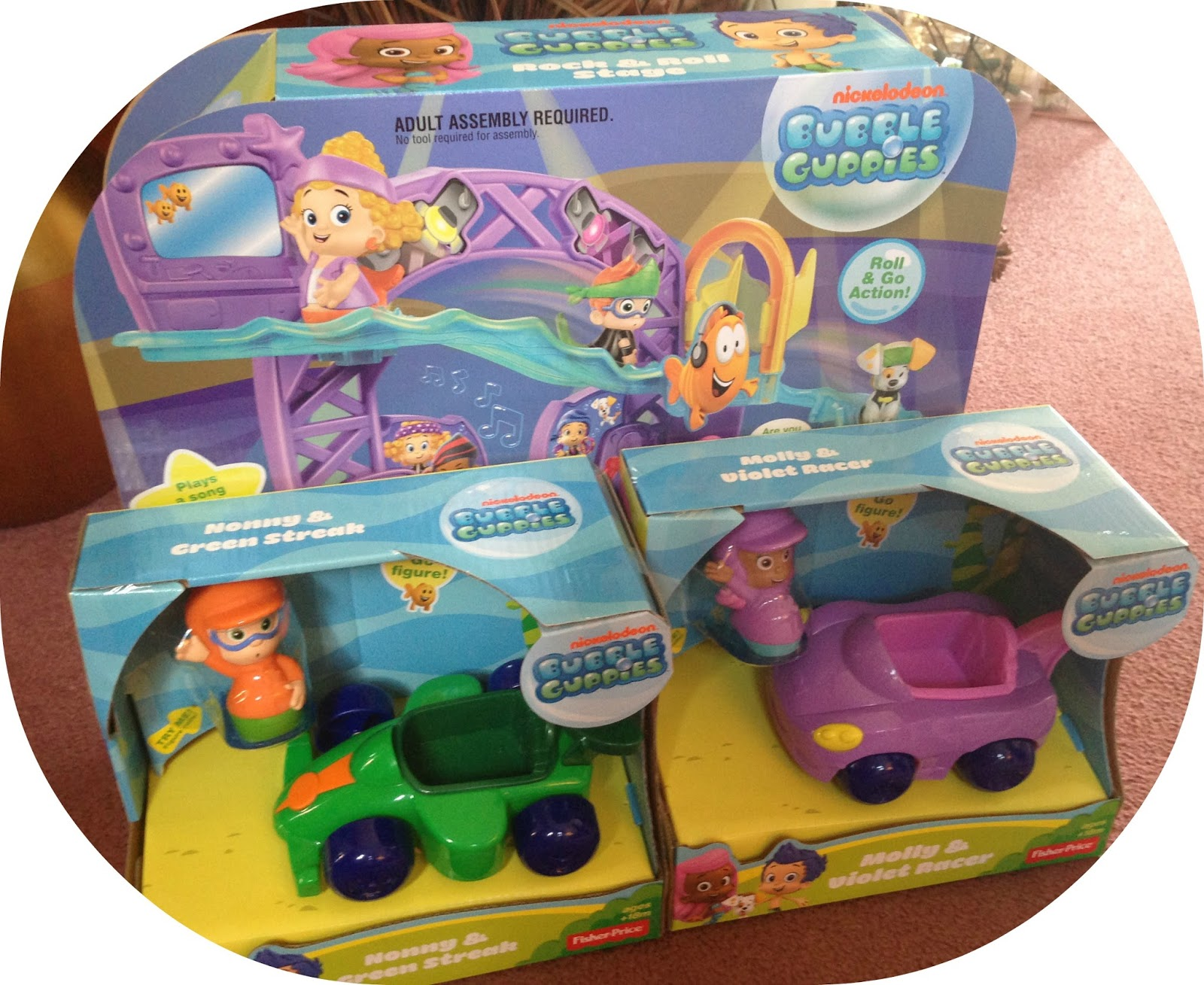 life unexpected the fisher price bubble guppie toy review