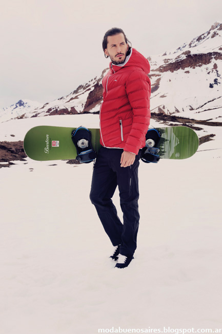 Camperas inflables invierno 2016 hombres. Moda invierno 2016 Abyss hombres.