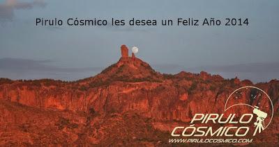 Pirulo Cósmico les desea un Feliz 2014