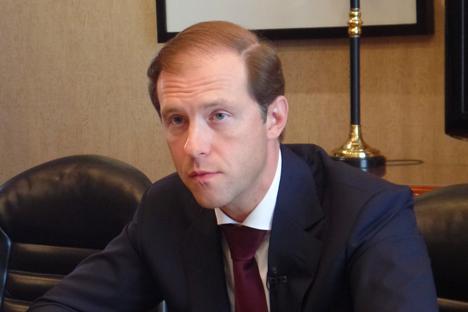 Menteri Perdagangan dan Industri Rusia Denis Manturov
