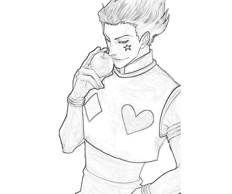 hisoka-apple-coloring-pages