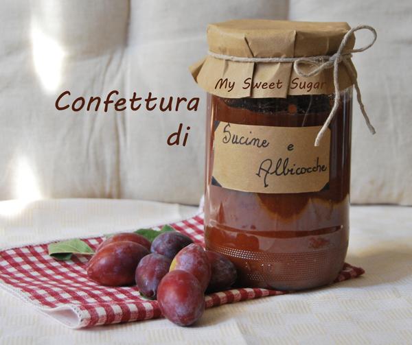 confettura di sucine e albicocche (susine e albicocche)
