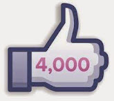 Mais de 4 mil seguidores no Facebook
