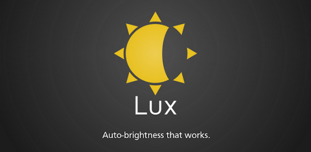 Lux Auto Brightness v1.06 APK