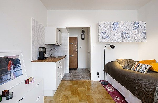 INTERIOR DESIGN STYLE FOR A SMALL APARTMENT