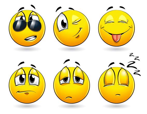 inspirasi emoticon smiley | tips dan trik desain