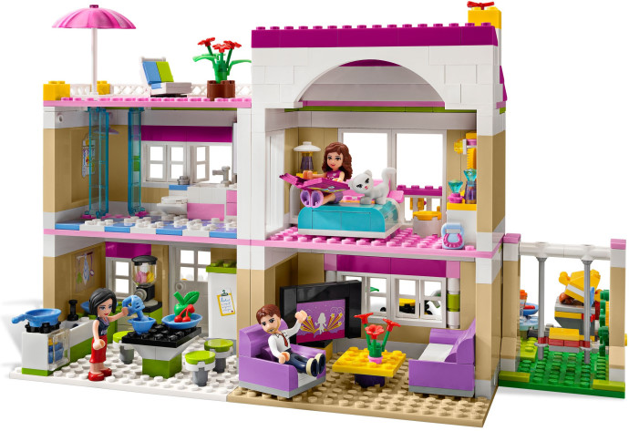 lego friends games for free house