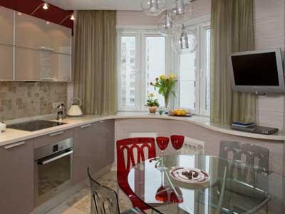 дизайн студія меблів New Art як оформити кухню з вікном дизайн
