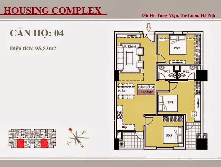 136 Hồ Tùng Mậu - Vinaconex 7 - Housing Complex - CH04