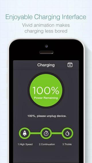 تطبيق مجاني مميز للحفاظ علي ومضاعفة عمر البطارية للأي فون والاي باد Battery Saver - Improve the Battery Life iOS 1.7