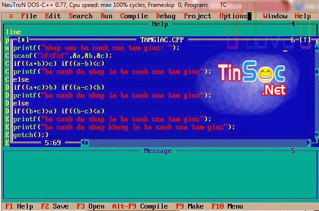 Turbo C++ Cho Windows 7 Và Windows 8