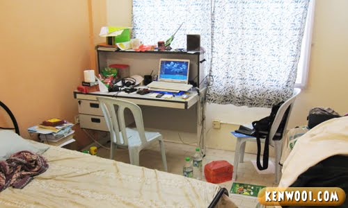 inti hostel room