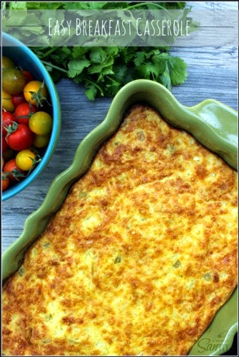 Easy Breakfast Casserole @ A Dash of Sanity