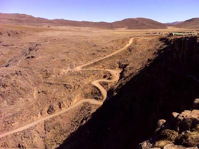 Estrada do Passo Sani – África do Sul