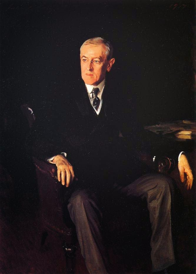 "president woodrow wilson essay A presentation on woodrow wilson  28th president of usa,1913 his famous  essay- ""the study of administration"" professor of."