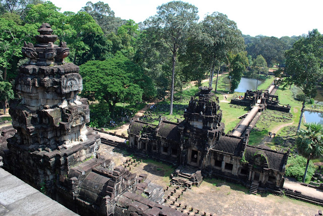 The Baphuon in Angkor Thom, Cambodia