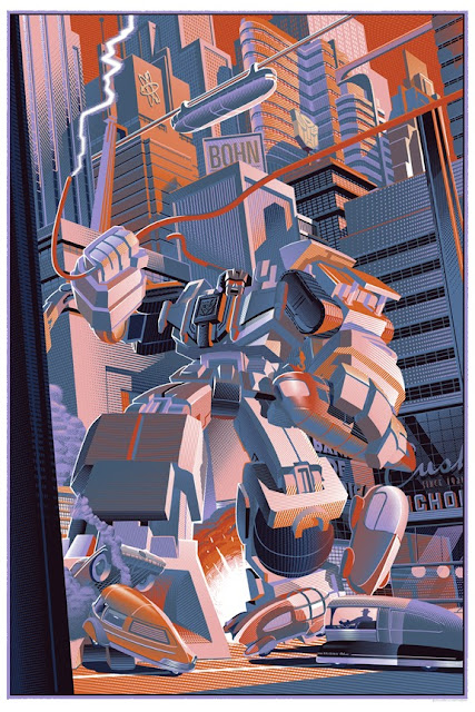 """Devastator"" Transformers Standard Edition Screen Print by Laurent Durieux"