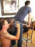 Picture of men in bondage