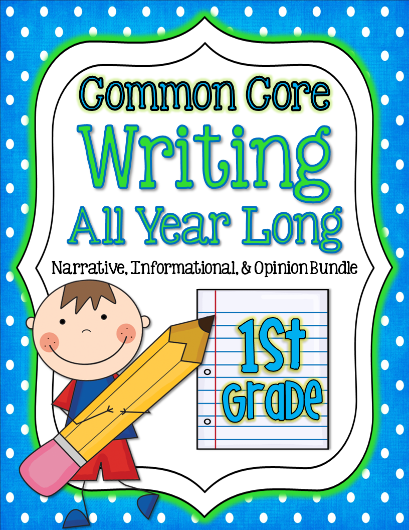 http://www.teacherspayteachers.com/Product/Common-Core-Writing-All-Year-Long-narrative-informational-opinion-506926