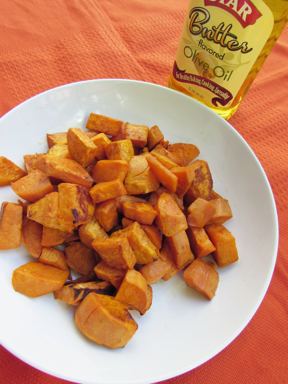 Oven-Roasted Buttery Sweet Potatoes
