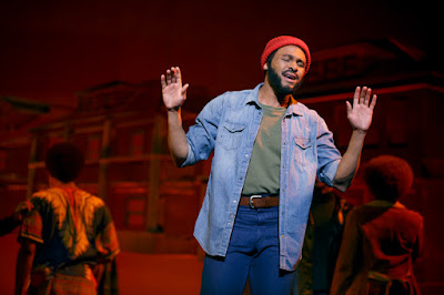 MOTOWN the Musical | Jarran Muse as Marvin Gaye | Photo: Joan Marcus