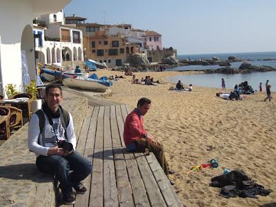 Beach of Calella de Palafrugell in La Costa Brava