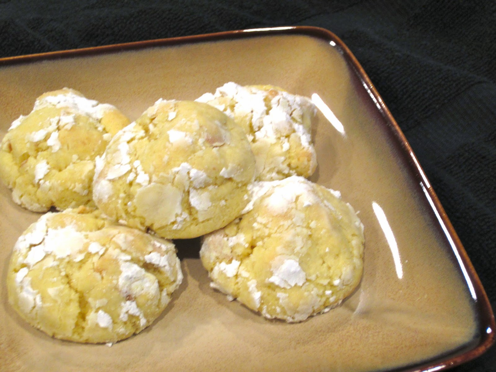 My Recipe Box: Banana Pudding Chewy Crinkle Cookies