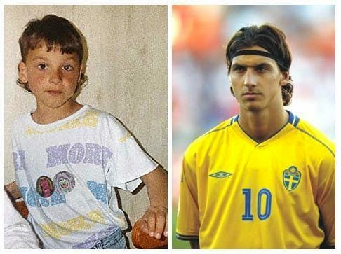 Famous Footballers Childhood Photos, Images, Pictures