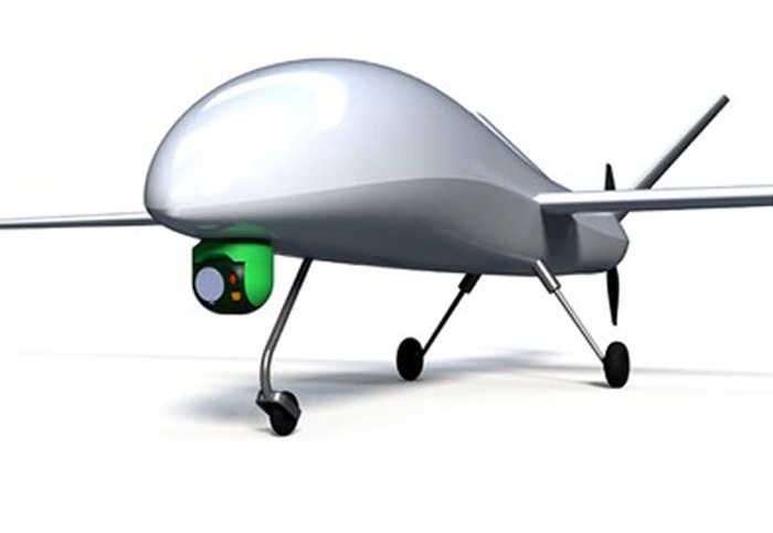 Prototype UAV Male rancangan PT DI