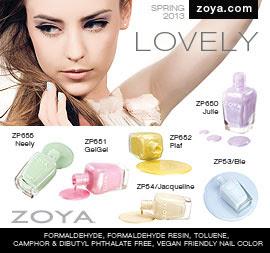 Zoya Nail Polish: Lovely