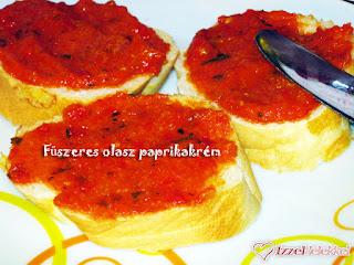 Pepperonata, olasz paprikakrém