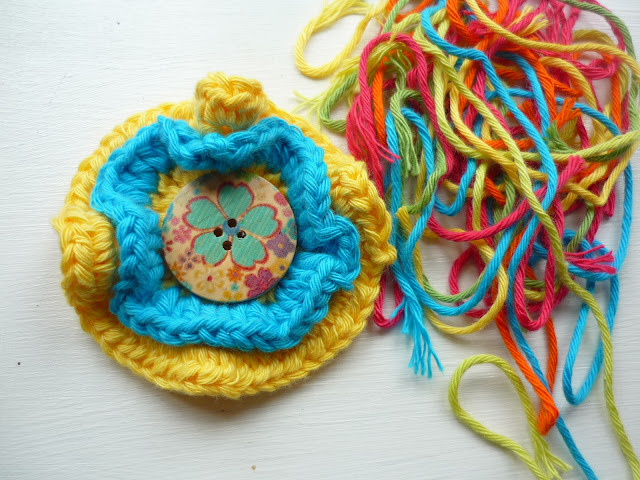 Crochet Medallion Flower