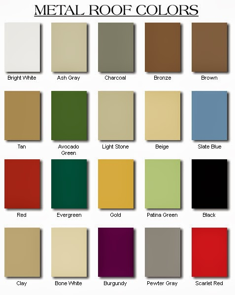 Whitewings interiors color trends for Roofing colors how to choose