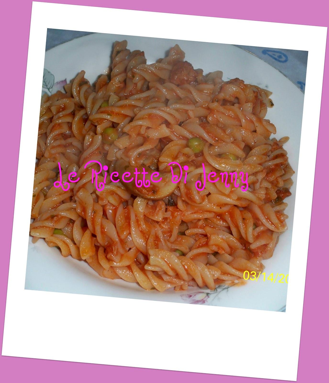 Le Ricette Di Jenny Passione E Fantasia In Cucina Fusilli