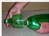 DIY: Escoba con botella Paso 10