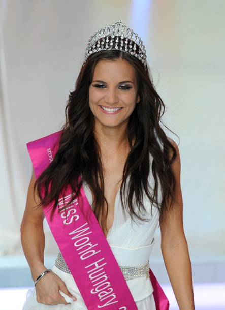 A Szepsegkiralyno Miss World Hungary 2012 Tamara Cserhati