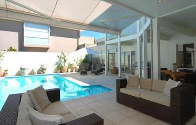 model rumah minimalis kolam renang