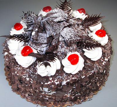 Bahan Untuk Membuat Black Forest Cake: