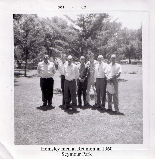 Homsley Reunion, Seymour, Texas