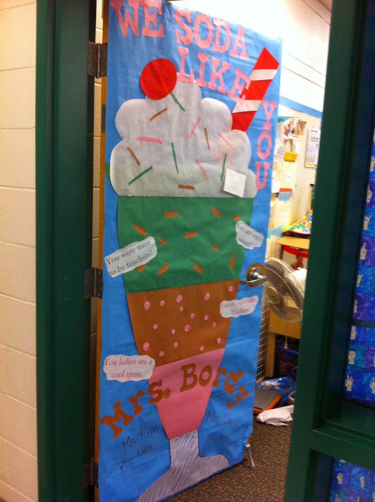 Mommy Lessons 101 Teacher Appreciation Week Door