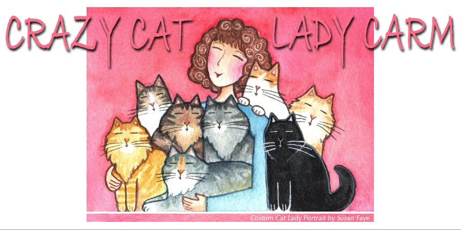 Crazy Cat Lady Carm