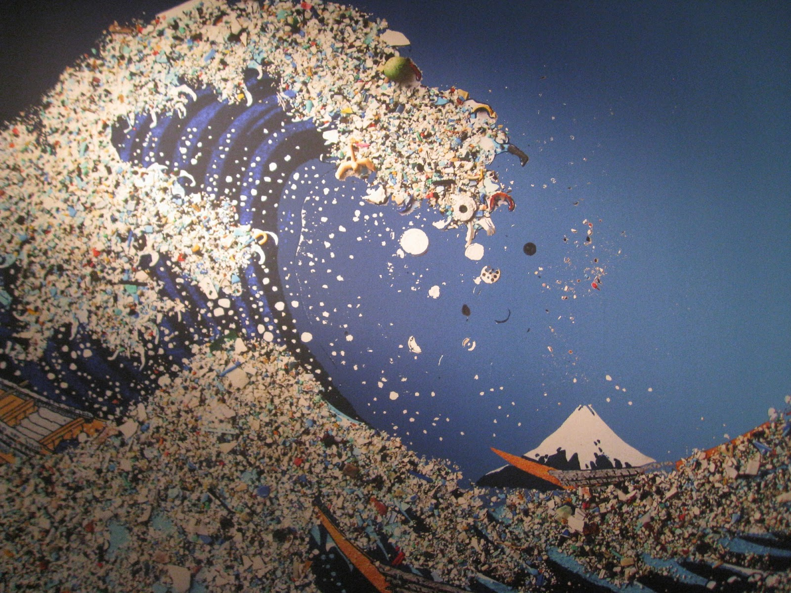 the great pacific garbage patch essay Another example, on the west coast there is a section of the north pacific ocean that is known as the great pacific garbage patch5  the great pacific garbage patch is the combination of the western and eastern pacific garbage patches.