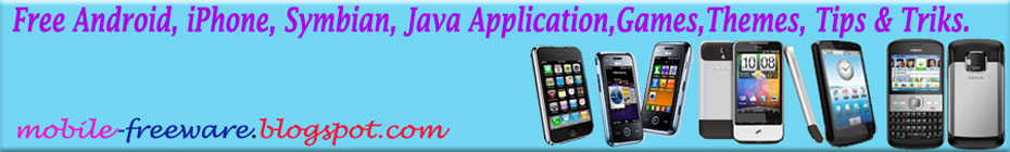 Free Applications for Android iPhone Symbian Java.