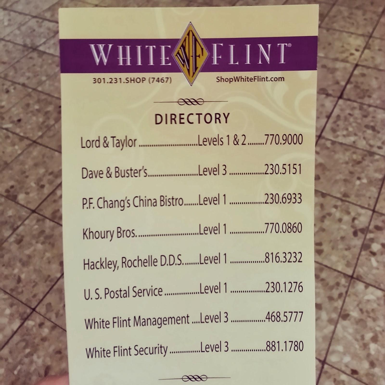 Robert Dyer @ Bethesda Row: WHAT\'S STILL OPEN AT WHITE FLINT MALL ...