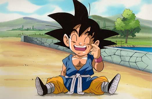 Personagens de animes parecidos! Goku+gt